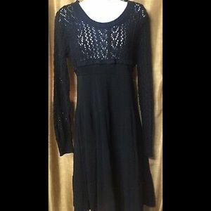 American Rag Black Midi Dress